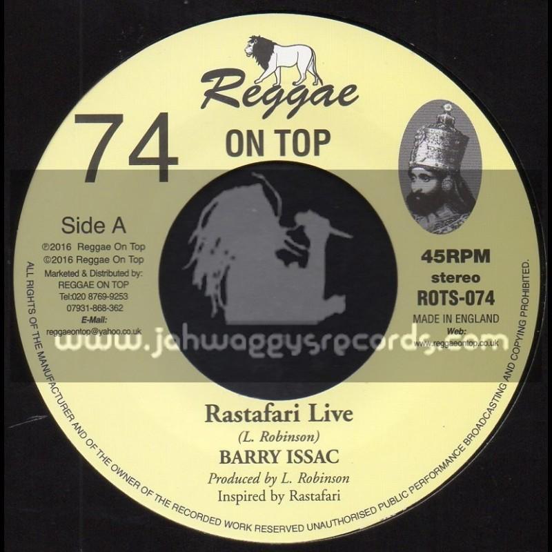 """Reggae On Top-7""""-74-Rastafari Live / Barry Issac"""