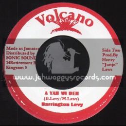 "Volcano-7""-A Yah Wi Deh / Barrington Levy"