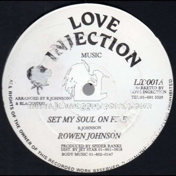 Rowen Johnson - Set My Soul On Fire