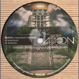 """Moonshine Recordings-12""""-Ruling Sound / Bukkha Feat. Junior Dread And Skelli Skell"""