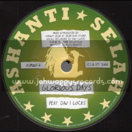 "Ashanti Selah-7""-Glorious Days / Dan I Locks + Forever More / I Jah Salomon"
