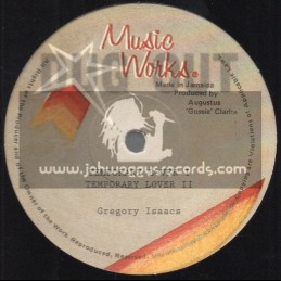 "Music Works Records-12""-Temporary Lover / Gregory Isaacs"