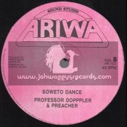 "Ariwa-12""-Soweto Dub Dance / Professsor Doppler And Preacher"