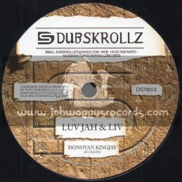 "Dubskrollz-7""-Luv Jah And Liv / Donovan Kingjay"
