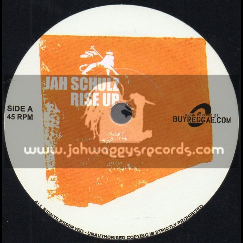 """Rail Road Records-7""""-Rise Up / Jah Schulz"""