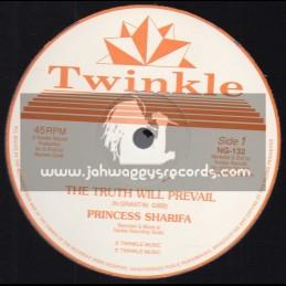"Twinkle-12""-The Truth Will Prevail / Princess Sharifa + A Fi Reach Back A Africa / Princess Sharifa"
