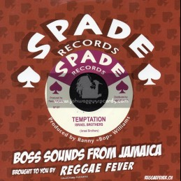 """Spade Records-7""""-Temptation / Israel Brothers + Days Like These / Imperials"""