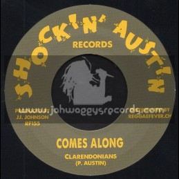"""Shockin Austin Records-7""""-Comes Along / Clarendonians + Try To Be Happy / Clarendonians"""