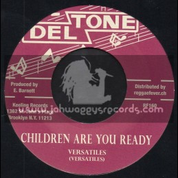 "Deltone-7""-Children Are You Ready / Versatiles + Teardrops Falling / Versatiles"