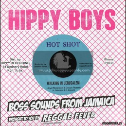 "Hot Shot-7""-Walking In Jerusalem / Lloyde Robinson And Devon Russell + Bimbo Reggae / Oswalde Nethersole And The Hippy Boys"