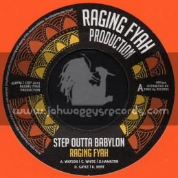 """Raging Fyah Production-7""""-Step Outer Babylon / Raging Fyah"""