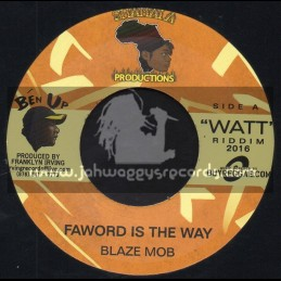 "Shamala Productions-7""-Faword Is The Way / Blaze Mob"