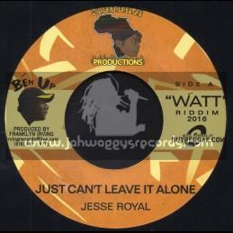 "Shamala Productions-7""-Just Cant Leave It Alone / Jesse Royal"
