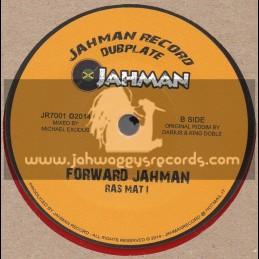 "Jahman Record Dubplate-7""-Dem Murderer / Maurylion + Forward Jahman / Ras Mat I"