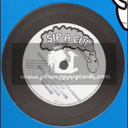 "Sip A Cup Records-10""-Musical Storm / Matic Horns + Fi Mi Horns / Matic Horns And The Mafia And Fluxy Band"
