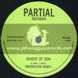 "Partial Records-7""-Shades Of Zion / Vibronics Feat. Boney L + Shades Of Dub / Vibronics"