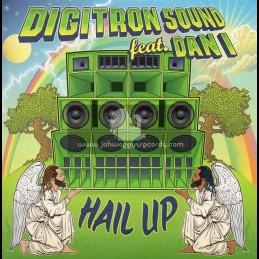 "Lions Den-7""-Hail Up / Digitron Sound Feat. Dan I + Hail Dub / Digitron Sound"