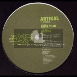 "CULTURAL WARRIORS MUSIC-10""-(2006)ATIKAL-FIRST THAO + ACCESS"