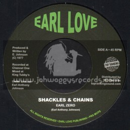 "Earl Love-Top Ranking Sound-7""-Shackles And Chains / Earl Zero"
