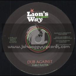 "Lions Way Records-7""-Fight Against / Antzoni Rubio"
