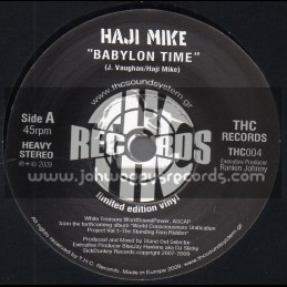 "THC Records-7""-Babylon Time / Haji Mike"