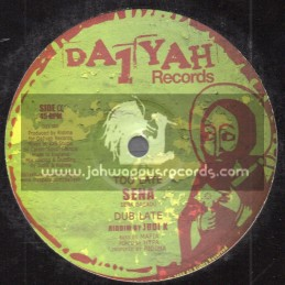 "Da1 Ya Records-10""-Too Late / Sena + Bun It Out / Sena"