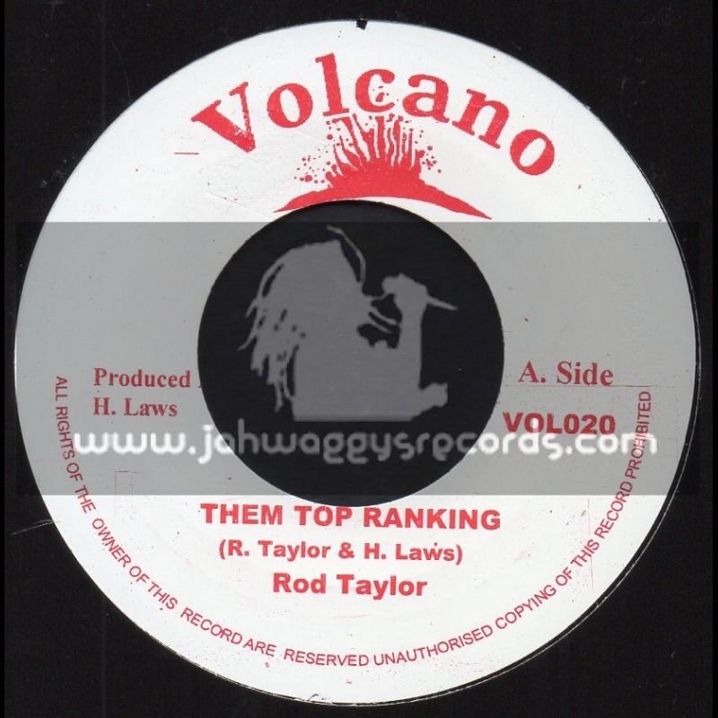 "Volcano-7""-Them Top Ranking / Rod Taylor"