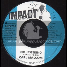 "Impact-7""-No Jestering / Carl Malcom + Jestering Dub / Skin Flesh And Bones"