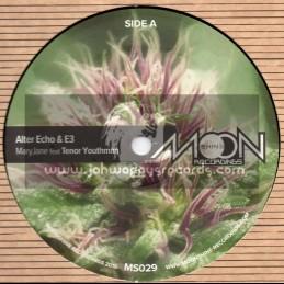 "Moonshine Recordings-12""-Mary Jane / Tenor Youthman - Alter Echo And E3"