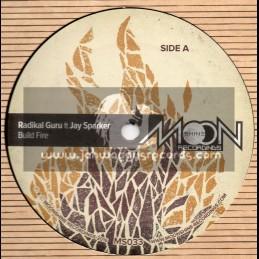 "Moonshine Recordings-12""-Build A Fire / Radikal Guru Feat. Jay Sparker"