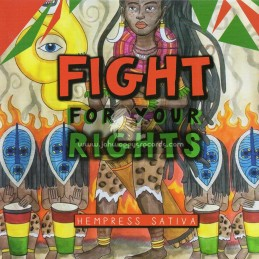 "Conquering Lion Records-7""-Fight For Your Rights / Hempress Sativa"