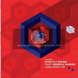 """Cubiculo Records-12""""-Strictly Sound Feat. Derrick Parker - Long Night Ep"""