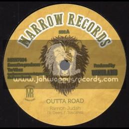 "Marrow Records-7""-Outta Road / Ramon Judah"