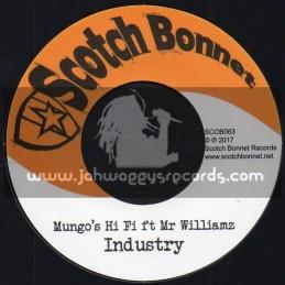 "Scotch Bonnet-7""-Industry / Mungo's Hi Fi ft Mr Williams"