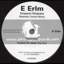 "Emperor Empress Rasheda Lioness Music-7""-Psalms 61  - Hear My Cry / Sister Rasheda"