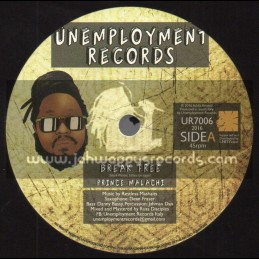 "Unemployment Records-7""-Break Free / Prince Malachi + Breaking Dub / Restless Mashaits"