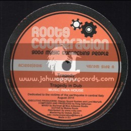 """Roots Cooperation-12""""-Tragedy / Tena Stelin + Walking On (Tired Of This) / Joshua Hales"""