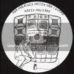 """Mighty Youth Records-7""""-Natty Militant / Sub Majesty Meets Dan I Locks"""