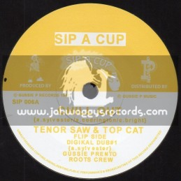 "Sip A Cup Records-7""-Chill Out / Tenor Saw And Top Cat"