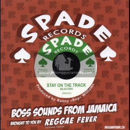 """Spade Records-7""""-Stay On The Track / Selectors + Darling Remember / Pat Edwards"""