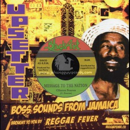 "Black Art-7""-Message To The Nation / Clinton Fearon + Dub Message / Upsetters"
