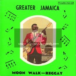 Treasure Isle-Lp-Greater Jamaica / Moon Walk-Reggay / Tommy McCook