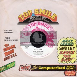 """Top Smile Records-7""""-Babylon / Speng Bond"""