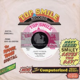 "Top Smile Records-7""-Hard Worker / S Kaya"