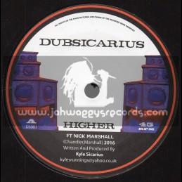 """Dubsicarious-7""""-Higher / Kyle Sicarius Feat. Nick Marshall"""