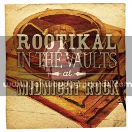 Roots-Double Lp-Rootikal In The Vaults At Midnight Rock / Various Artist