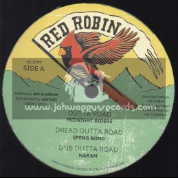 """Red Robin-12""""-Outa Road/Midnight Riders+Dread Outer Road/Speng Bond+Dem A Fraud/Steve Knight+Salute The Veteran/Tippa Lee"""
