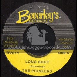 """Beverleys Records-7""""-Long Shot / Pioneers"""