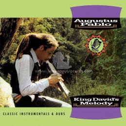 Greensleeves-Lp-King Davids Melody - Past And Present Clasic Instumentals / Augustustus Pablo