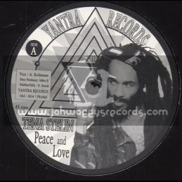 "Yantra Records-7""-Peace And Love / Kris Naphtali Feat. Tena Stelin"